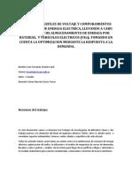 Analisis de Perfiles de Voltaje y Comporamientos en Las Redes de Energia Electrica