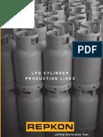 Linea de Produccion de Cilindros de GLP