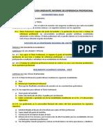 Marco Legal Titulacion Mediante Informe de Experiencia Profesional