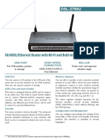 Dsl-2750u Data Sheet En