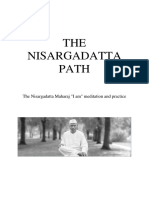 Nisargadatta Maharaj the Nisargadatta Path