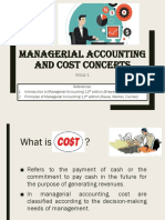 Group 1 - Managerial Accounting and Cost Concepts