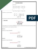 ECUACIONES LINEALES formulario