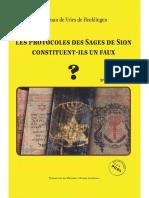 De Vries De Heekelingen Herman - Les Protocoles des Sages de Sion constituent-ils un faux.pdf