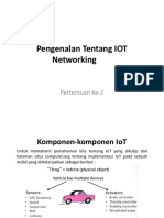 Pengenalan Tentang IOT Networking