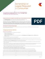 Change of Ownership c113 c2c