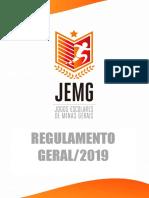 Regulamento Geral JEMG 2019
