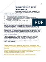 6 Points d'Acupression Pour Controler Le Diabete