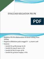Presentasi Evaluasi Pis Pk Maret