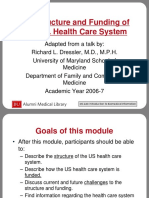 U.S. Health Care System