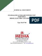 Technical Specification for APU_EMD Locomotives