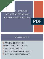 Model Stress Adaptasi Dalamkeperawatan Jiwa
