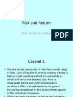 Risk Return