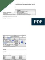 Exemplo de RCFA - Causa Raíz