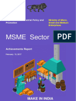 MSME Sector - Achievement Report