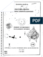 Manual on Phytoplanktons