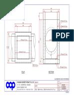 Manhole 100cm. Size 100x100x20-25x175 Cm.-model