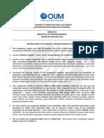 Assignment Rubric Prinsip Mikro Ekonomi