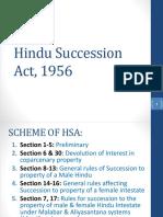 Week 5-7 Hindu Succession Act, 1956 FLII_SM