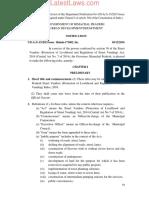 Himachal Pradesh Street Vendors (Protection of Livelihood and Regulation of Street Vending) Rules, 2016