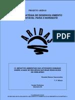 ANEXO Projeto ARIDAS - UMA ESTRATÉGIA DE DESENVOLVIMENTO SUSTENTÁVEL PARA O NORDESTE