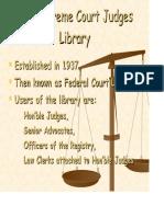 Judges Lib