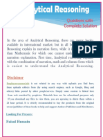 Analytical Reasioning book Questions with complete solutions.pdf