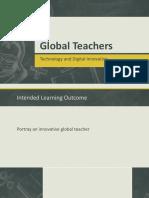 Global Teachers - Technology and Digital Innovative