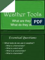 Weather tools presentation