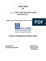 _Industrial_Organizational Psychology project.docx
