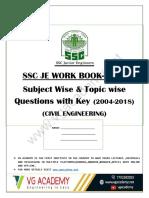 Ssc Je Practice Book