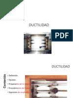 Ductilidad