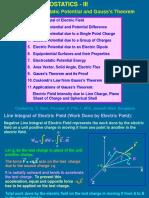 Class Notes of Unit Electrostatics Part-3
