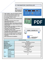 INCU5 Infant Incubator Controller