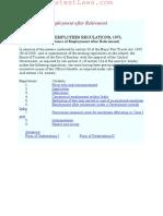 Mumbai Port Trust Acceptance of Employment After Retirement 1975