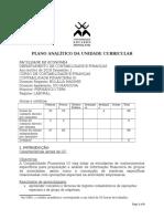 Plano Analítico Da Unidade Curricular Cf3 1ºsem2019