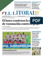 El Litoral Mañana 18-04-2019