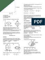 Geometria Analítica - Cônicas