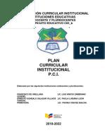 PCI  CORREGIDO FRANCISCO DE ORELLANA 2018 (Autoguardado).docx