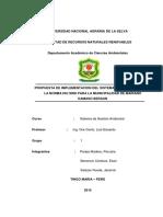 Propuesta de Implementacion Del Sistema de Gestion Iso 9000 Para La Municipalidad Del Distrito de Mariano Damaso Beraun Grupo 1