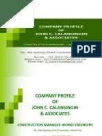 Presentation Company Profile Jcca