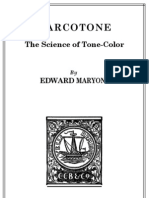 Marcotone Science of Tone Color