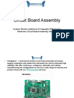 Circuit Board Assembly - Custom Electric Toothbrush E-Cigarette GPB Tracker Electronic Circuit Board Assembly Services
