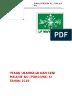 Panduan PORSEMA XI Tahun 2019 LPMNU Kabupaten Kendal_1-2