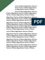 Algoritmos Teoria e Prática.docx