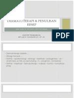 Dermatoterapi Dan Penulisan Resep