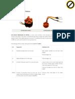 Datasheet Brushless DC A2212 13T