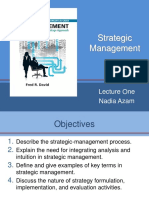 Ch 8 Types of Strategy