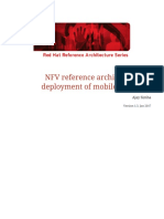 NFV reference architecture for deployment of mobile networks