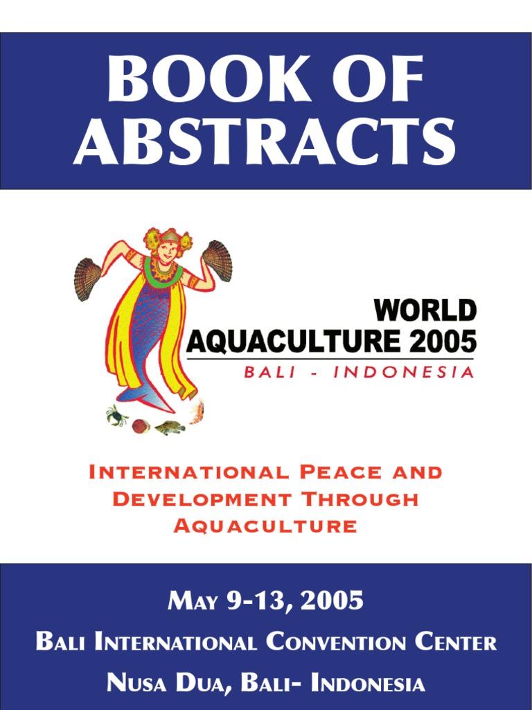 was bali 2005 aquaculture food safety